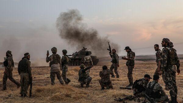 Militares turcos en Siria - Sputnik Mundo
