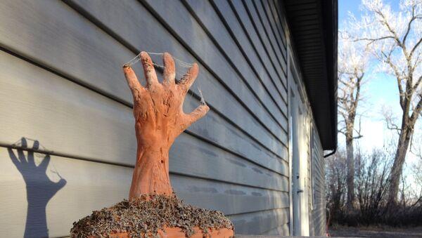 Una mano, imagen referencial - Sputnik Mundo