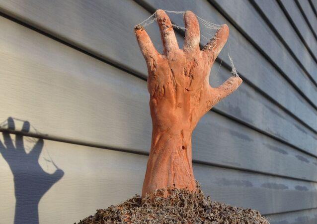Una mano, imagen referencial