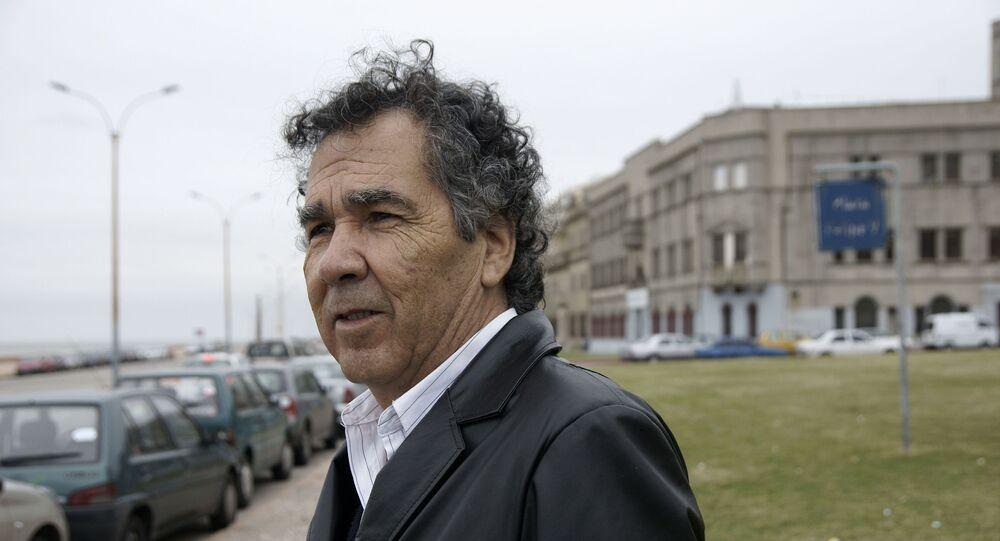 Hernán Rivera Letelier, el novelista chileno