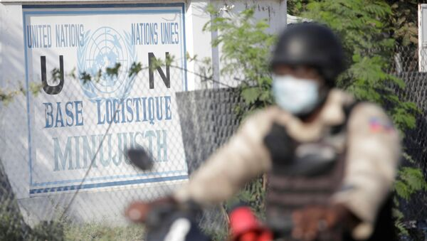 Base Logística de Minujusth en Haití - Sputnik Mundo