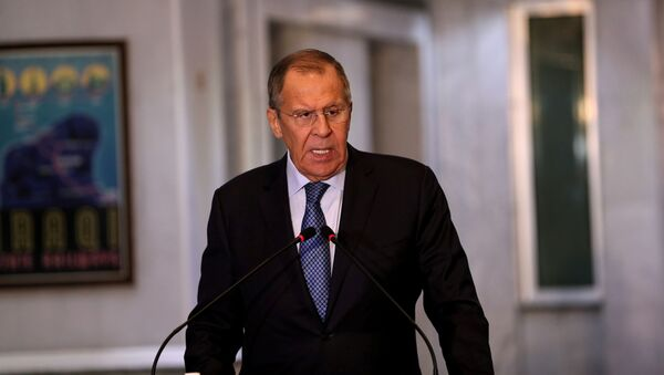 Serguéi Lavrov, canciller de Rusia (archivo) - Sputnik Mundo