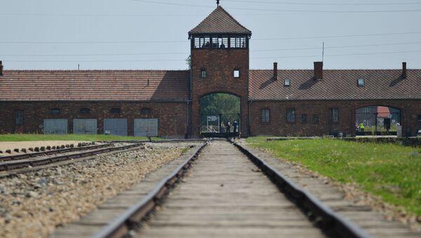 El campo de consetración Auschwitz-Birkenau - Sputnik Mundo