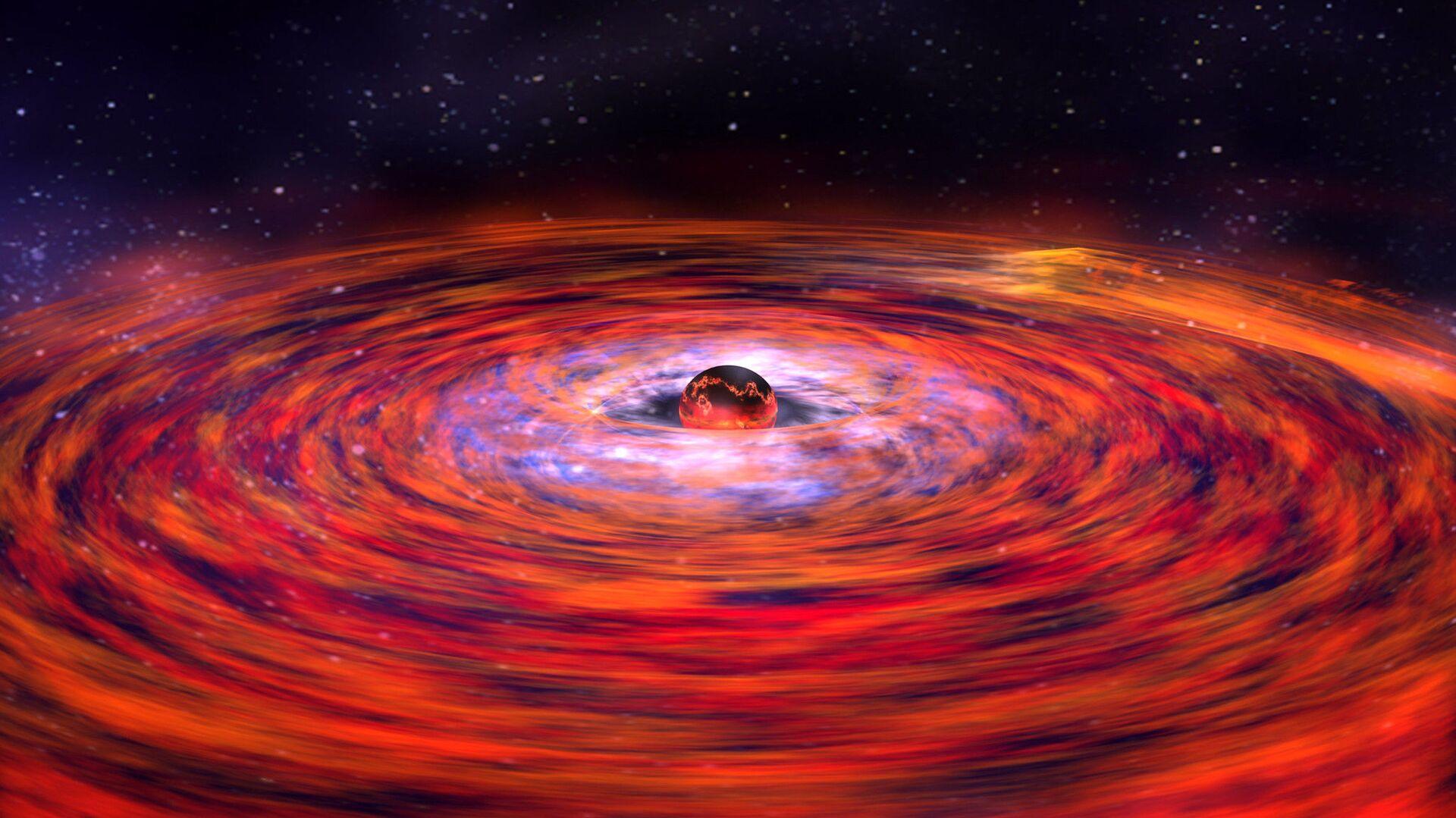 Una explosión estelar (imagen referencial) - Sputnik Mundo, 1920, 29.06.2021