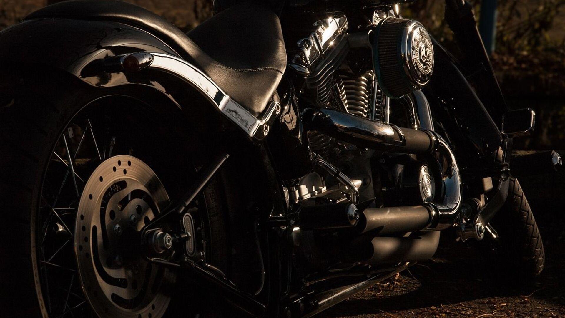 Una motocicleta. Imagen referencial - Sputnik Mundo, 1920, 18.06.2021