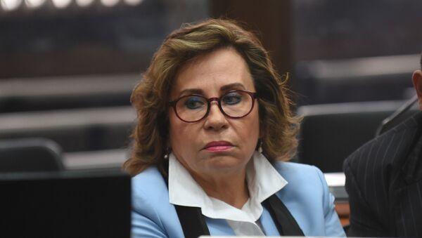 Sandra Torres, excandidata presidencial guatemalteca (archivo) - Sputnik Mundo