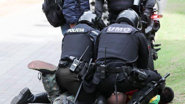 Policía ecuatoriana - Sputnik Mundo