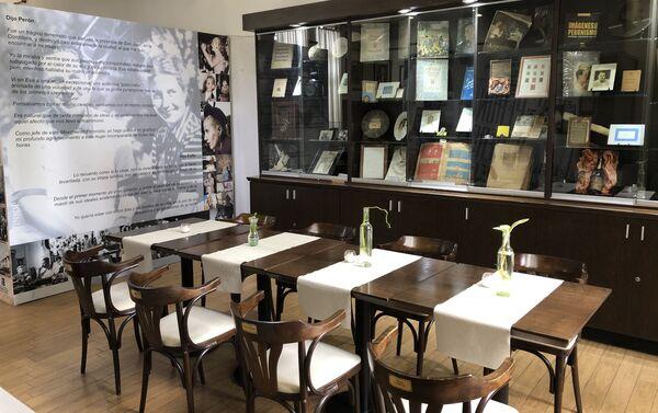 Un café con Perón, bar temático y museo - Sputnik Mundo