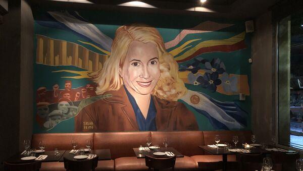 El Santa Evita, restaurante militante - Sputnik Mundo