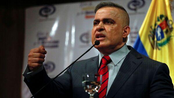 Tarek William Saab, el Fiscal General de Venezuela - Sputnik Mundo