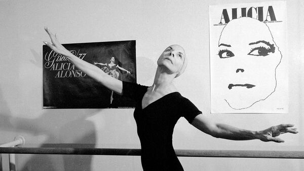 La bailarina cubana de ballet Alicia Alonso - Sputnik Mundo