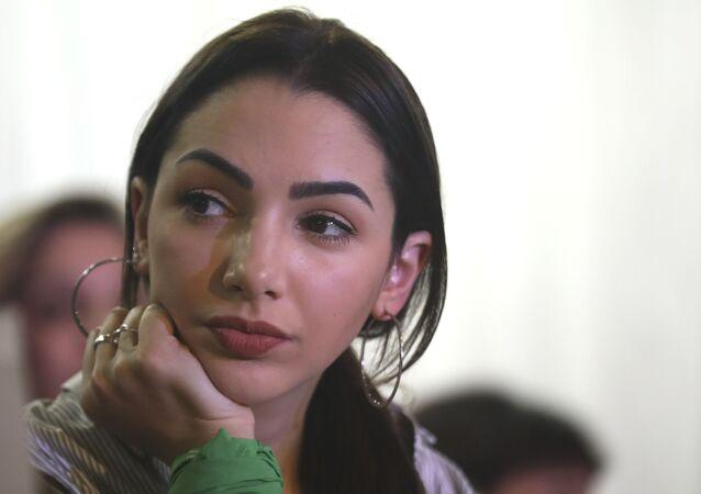 La actriz argentina Thelma Fardín