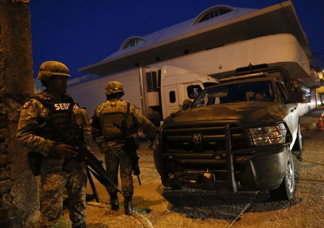 La Guardia Nacional de México (archivo)