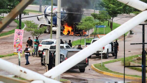 Disturbios en México tras la liberación del hijo de 'Chapo' Guzmán - Sputnik Mundo