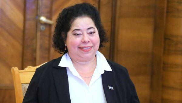 La embajadora de Nicaragua en Rusia, Alba Azucena Torres Mejía - Sputnik Mundo