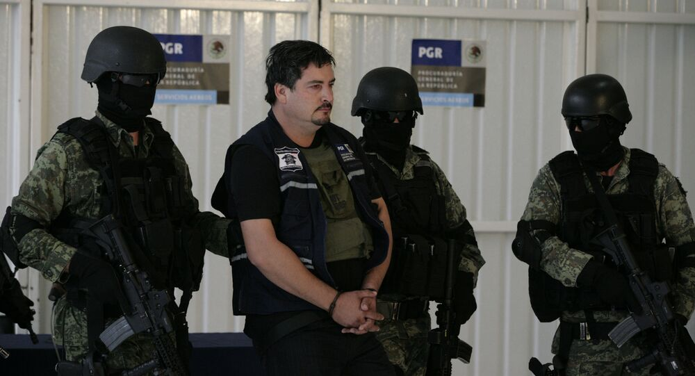 La operación de captura del hijo de 'Chapo' Guzmán en México