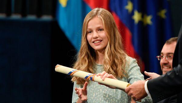 Leonor, la hija mayor de los monarcas españoles - Sputnik Mundo