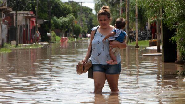 Inundaciones en Argentina - Sputnik Mundo