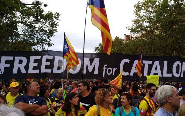 Huelga general y movilizaciones en Cataluña - Sputnik Mundo