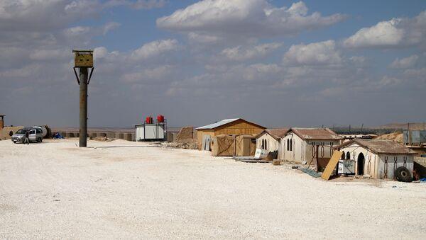 Una base militar de EEUU en Al Hasaka, Siria - Sputnik Mundo