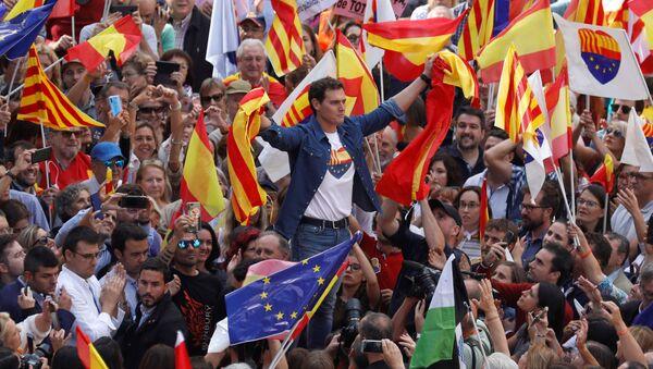 Albert Rivera, candidato español de la formación neoliberal Ciudadanos - Sputnik Mundo