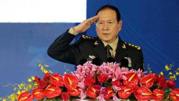 Wei Fenghe, ministro de Defensa de China - Sputnik Mundo