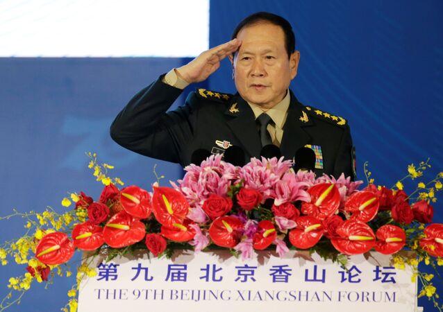 Wei Fenghe, ministro de Defensa de China
