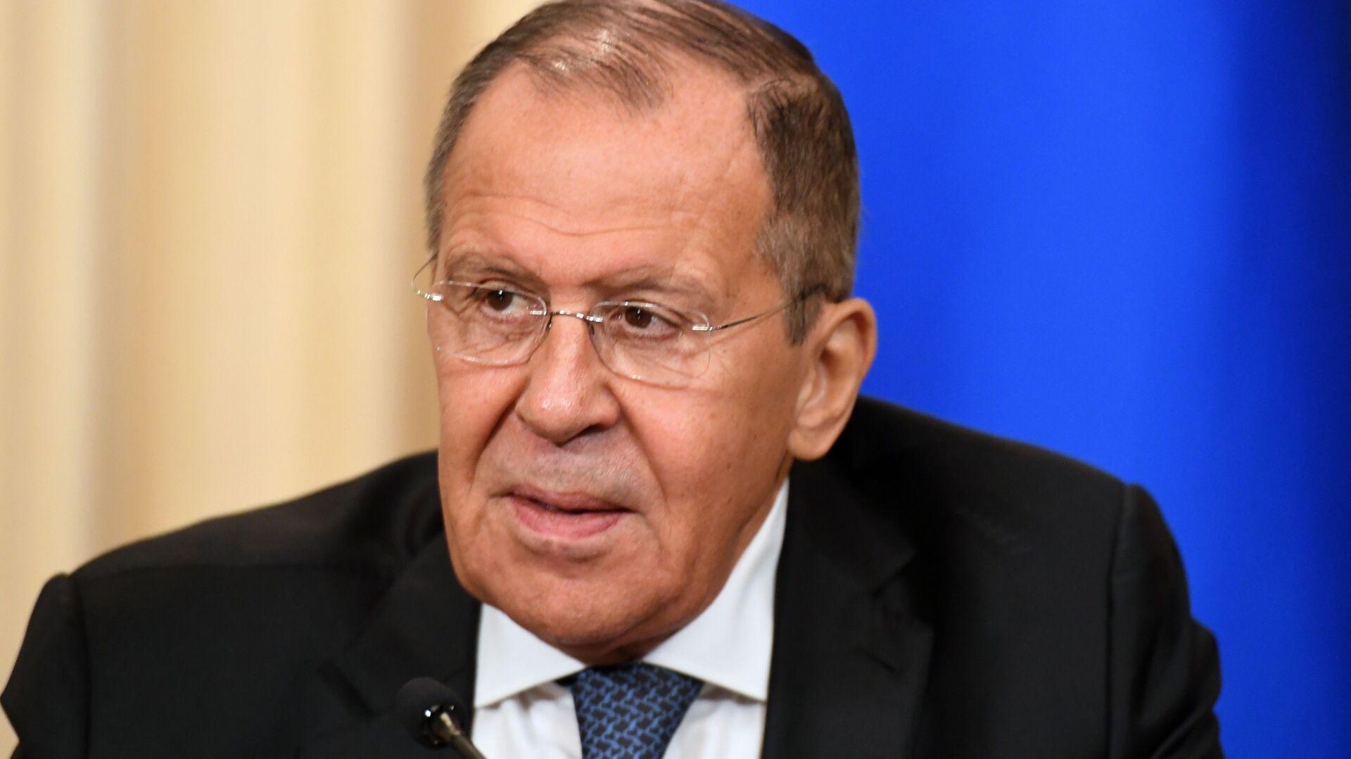 Serguéi Lavrov, el ministro de Asuntos Exteriores ruso - Sputnik Mundo, 1920, 01.06.2021