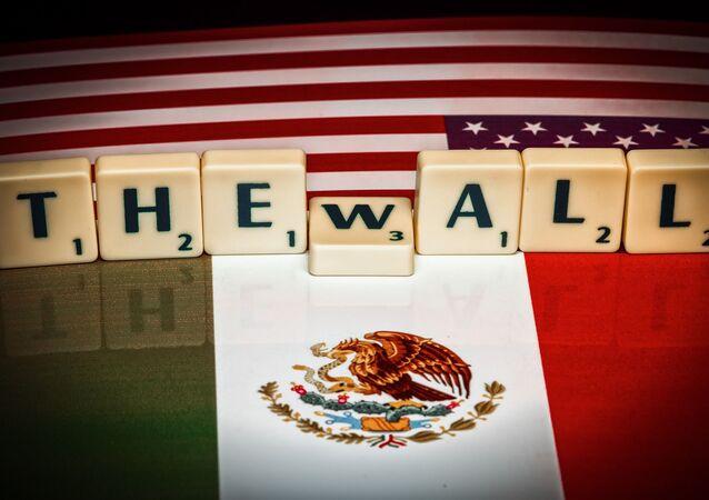 Muro entre EEUU y México (imagen referencial)