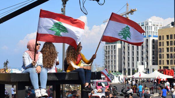 Protestas en el Líbano  - Sputnik Mundo