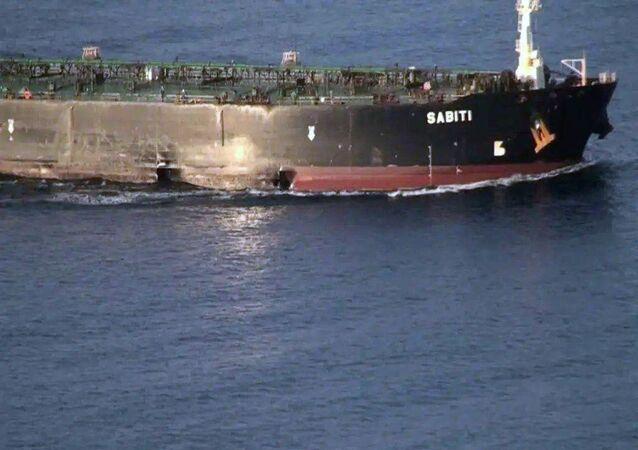 El petrolero iraní Sabiti
