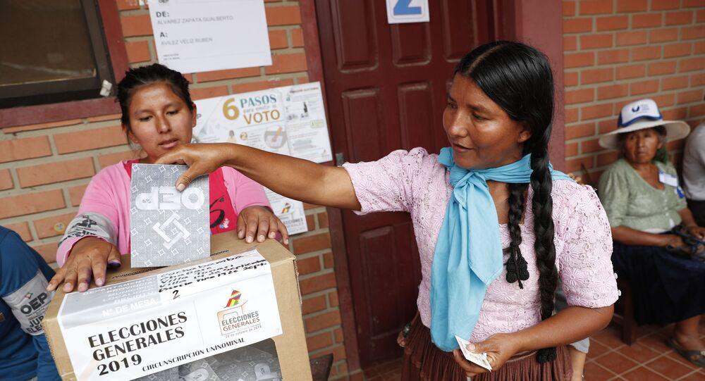 Las elecciones generales en Bolivia (archivo)