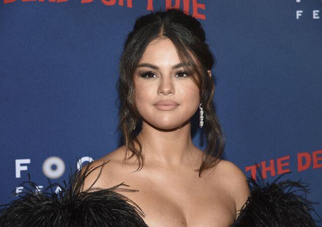 Selena Gómez, actriz y cantante estadounidense