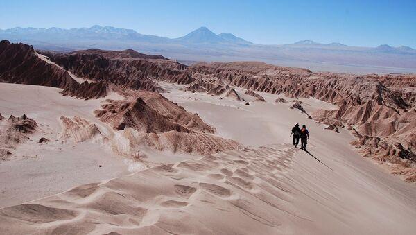 Desierto de Atacama en Chile - Sputnik Mundo