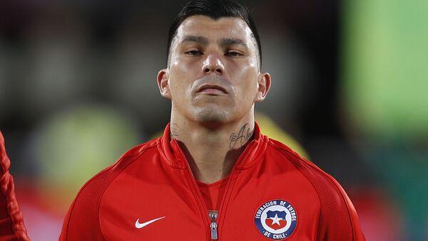 Gary Medel, capitán de la selección de fútbol de Chile - Sputnik Mundo