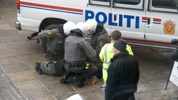 Policía en Noruega - Sputnik Mundo