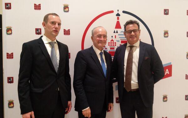Fco. de la Torre, alcalde de Málaga (c) - Sputnik Mundo