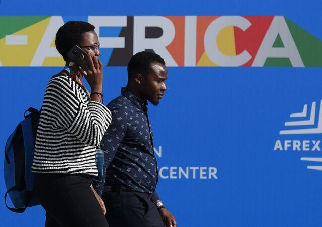 Participantes de la cumbre Rusia-África
