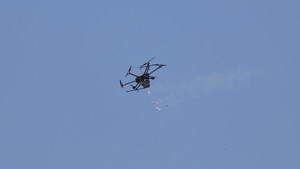 Un dron israelí - Sputnik Mundo