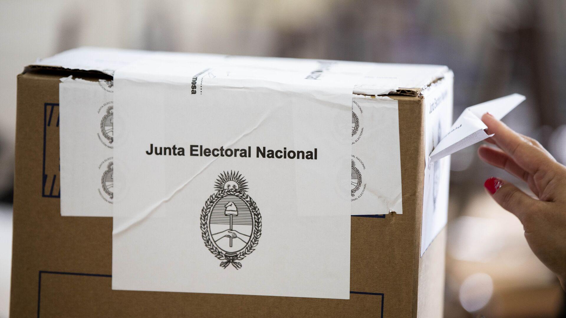 Elecciones en Argentina - Sputnik Mundo, 1920, 03.08.2021