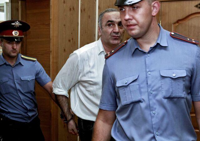 Tariel Oniani, capo de la mafia ruso-georgiana