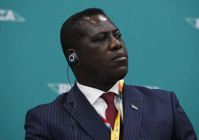 David John Francis, el primer ministro de Sierra Leona