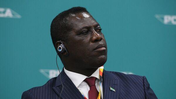 David John Francis, el primer ministro de Sierra Leona - Sputnik Mundo