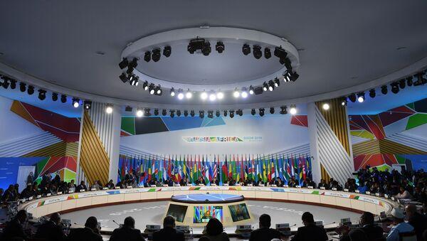 La primera cumbre Rusia-África en Sochi - Sputnik Mundo