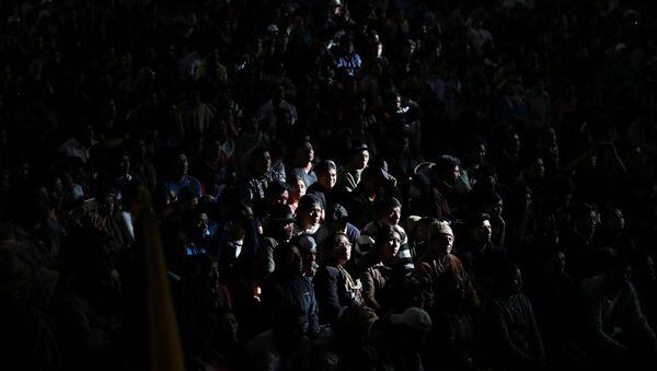 Las protestas en Ecuador (archivo) - Sputnik Mundo