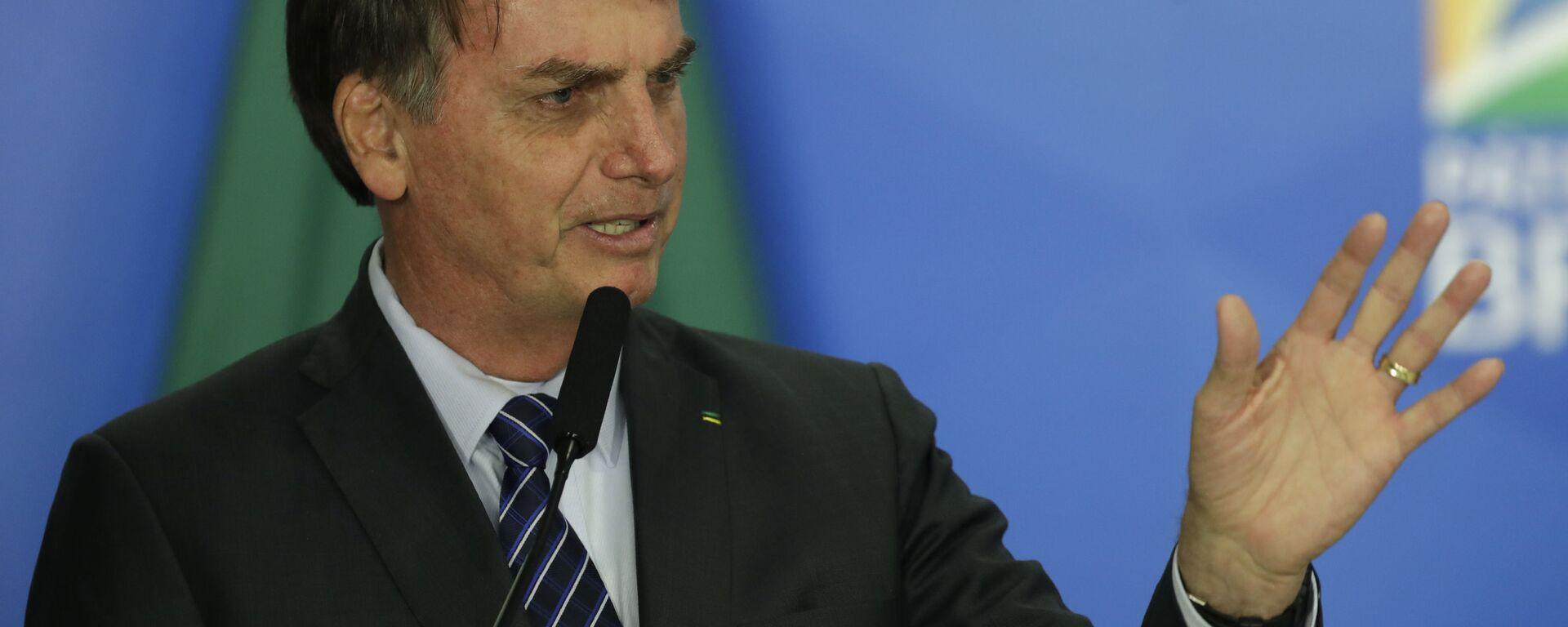 Jair Bolsonaro, el presidente de Brasil - Sputnik Mundo, 1920, 03.09.2021