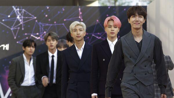 Grupo K-Pop surcoreano BTS - Sputnik Mundo