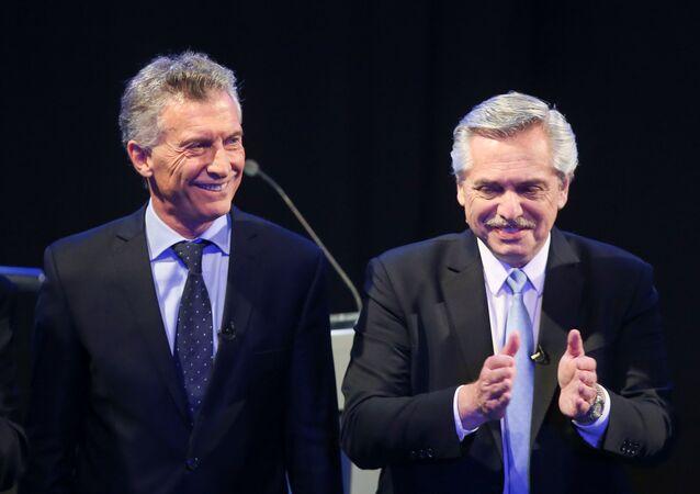 Los candidatos a la presidencia argentina