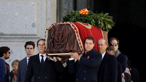 Exhumación de Francisco Franco - Sputnik Mundo