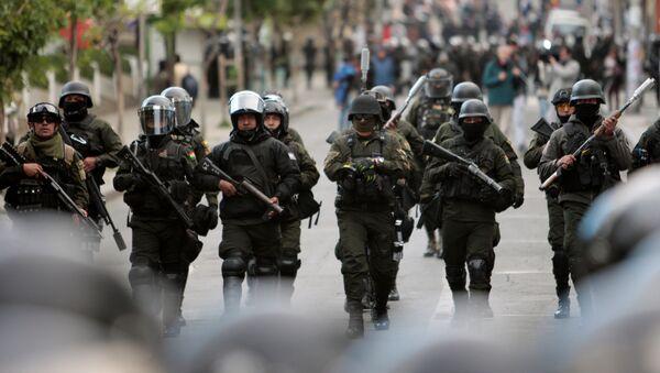 Protestas en La Paz - Sputnik Mundo